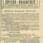Nowiny Spisko – Orawskie